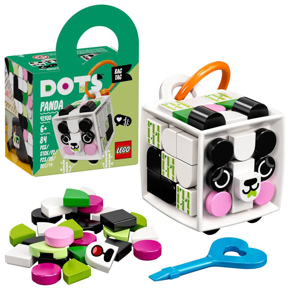 LEGO DOTS tassenhanger panda 41930