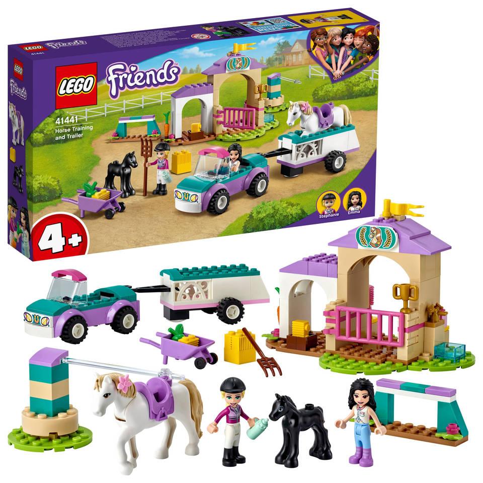 LEGO Friends paardentraining en aanhanger 41441