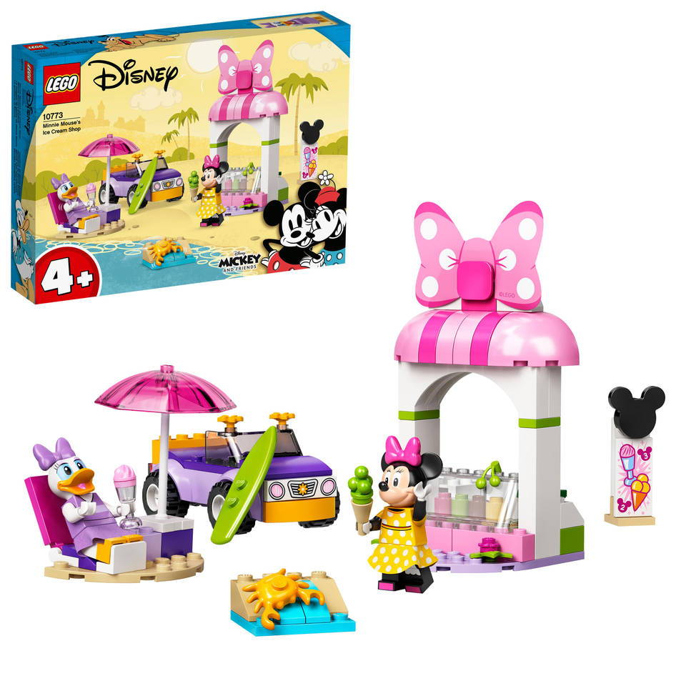 LEGO Disney Minnie Mouse ijssalon 10773