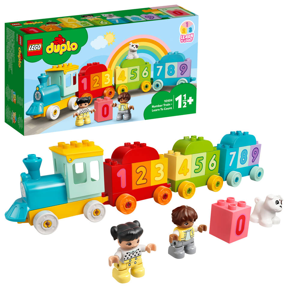 LEGO DUPLO getallentrein Leren tellen 10954