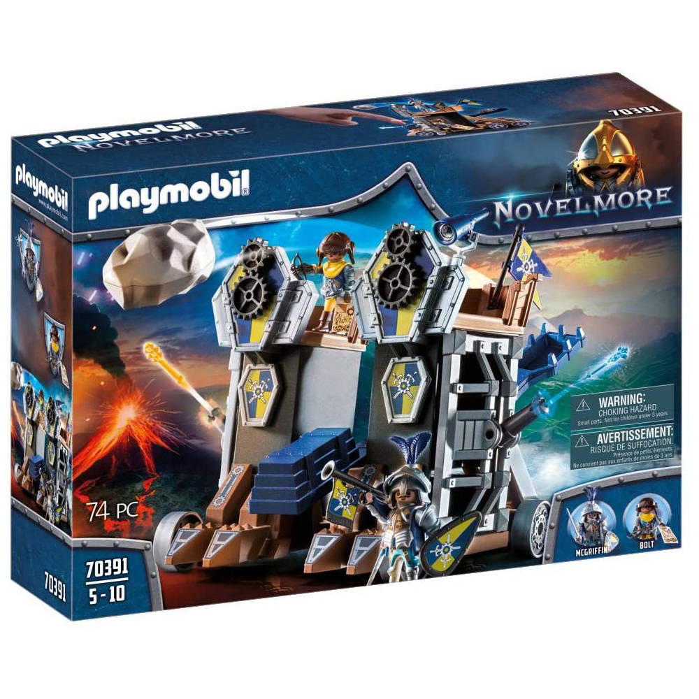 PLAYMOBIL Novelmore mobiel katapultfort 70391