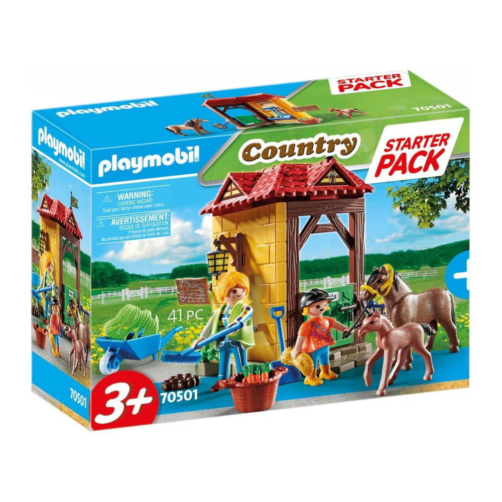 PLAYMOBIL starterpack manege 70501