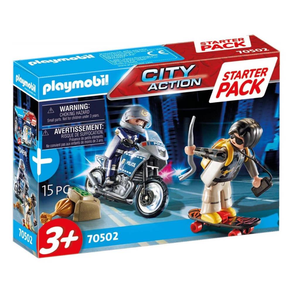 PLAYMOBIL starterpack politie uitbreidingsset 70502