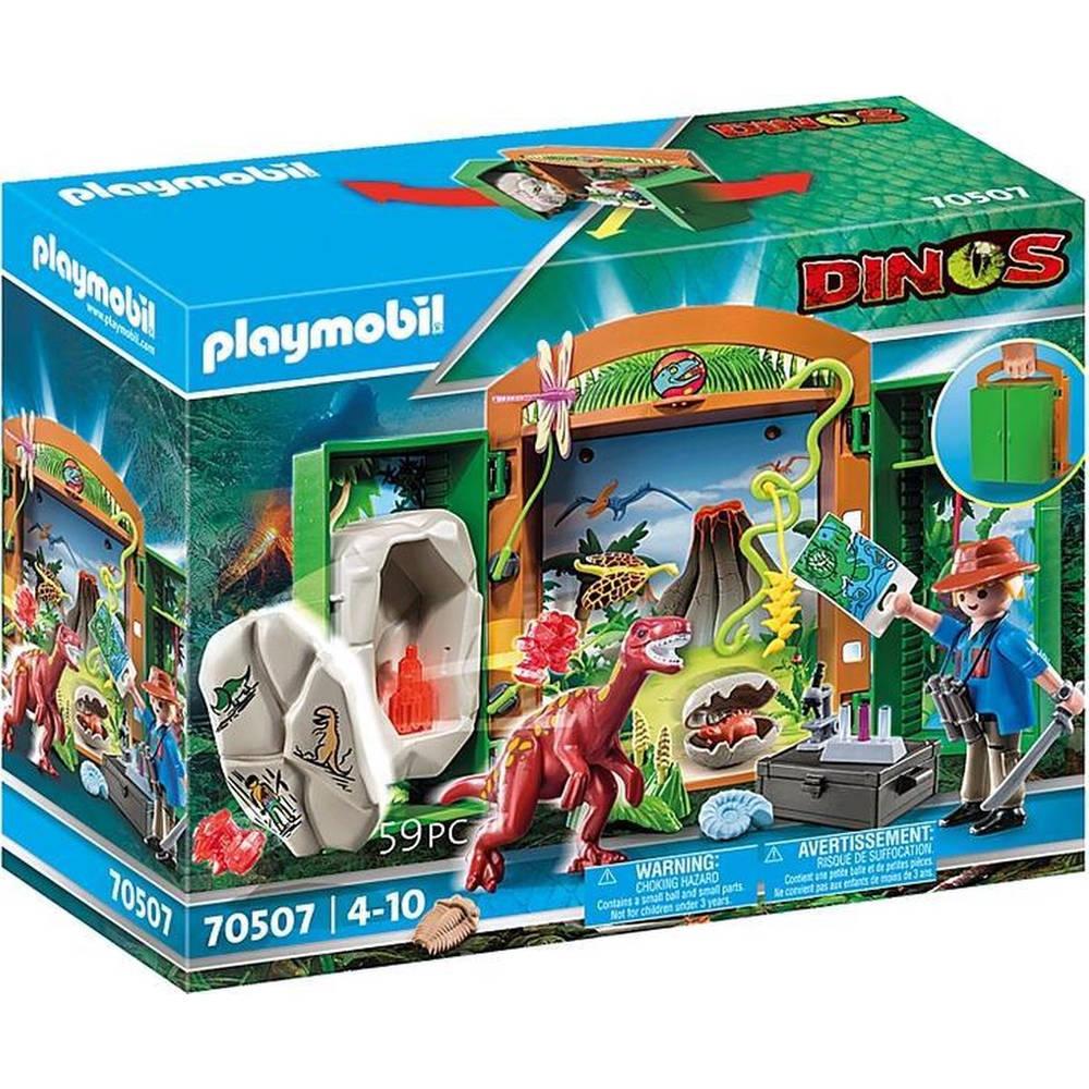 PLAYMOBIL speelbox dino onderzoeker 70507