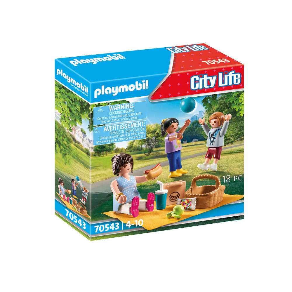PLAYMOBIL City Life picknick in het park 70543