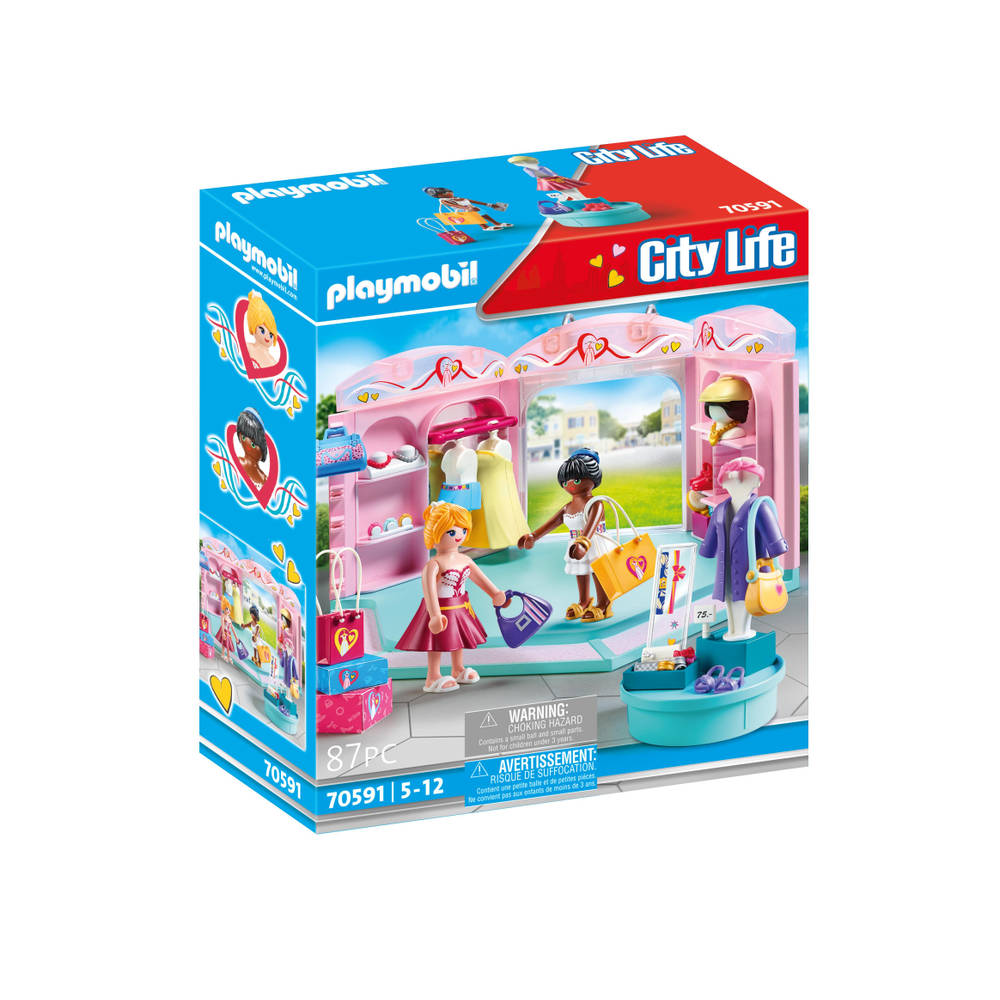 PLAYMOBIL City Life modewinkel 70591