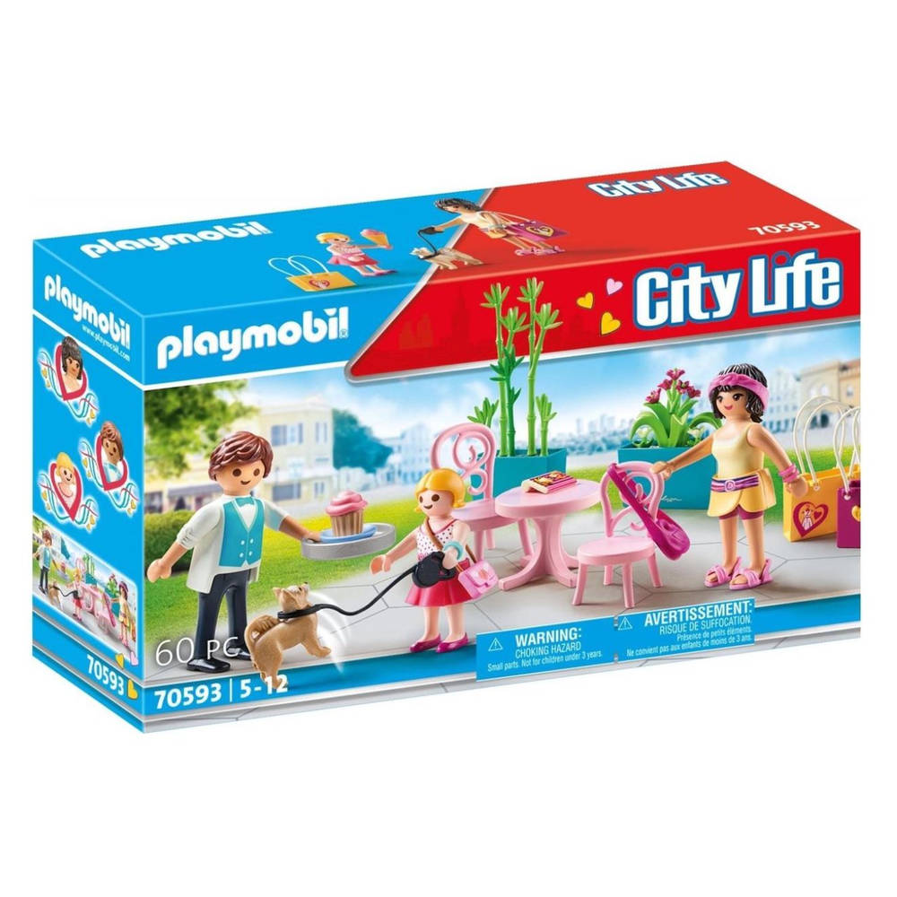 PLAYMOBIL City Life koffiepauze 70593