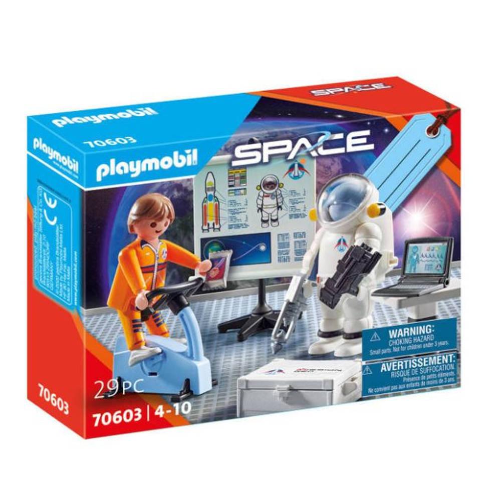 PLAYMOBIL Space geschenkset astronautentraining 70603