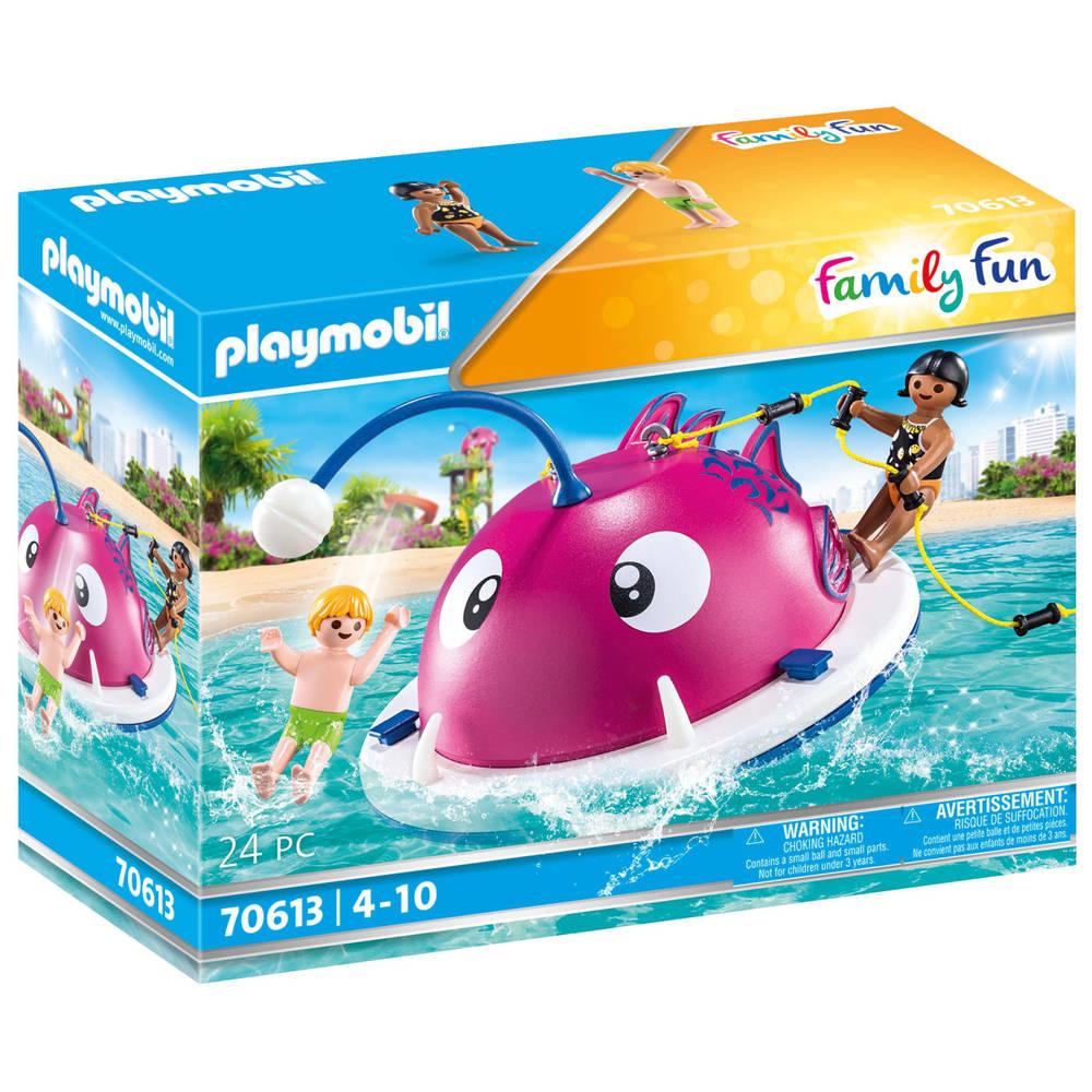 PLAYMOBIL Family Fun beklimmen zwemeiland 70613