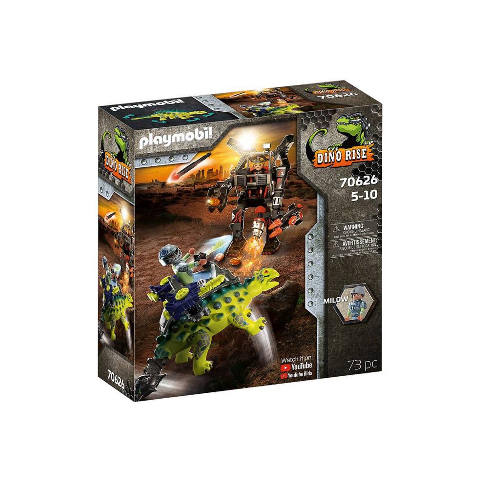 PLAYMOBIL Dino Rise Saichania verdediging van de vechtersbazen 70626