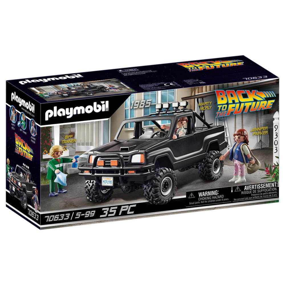 PLAYMOBIL Back to the Future martys pickup truck 70633