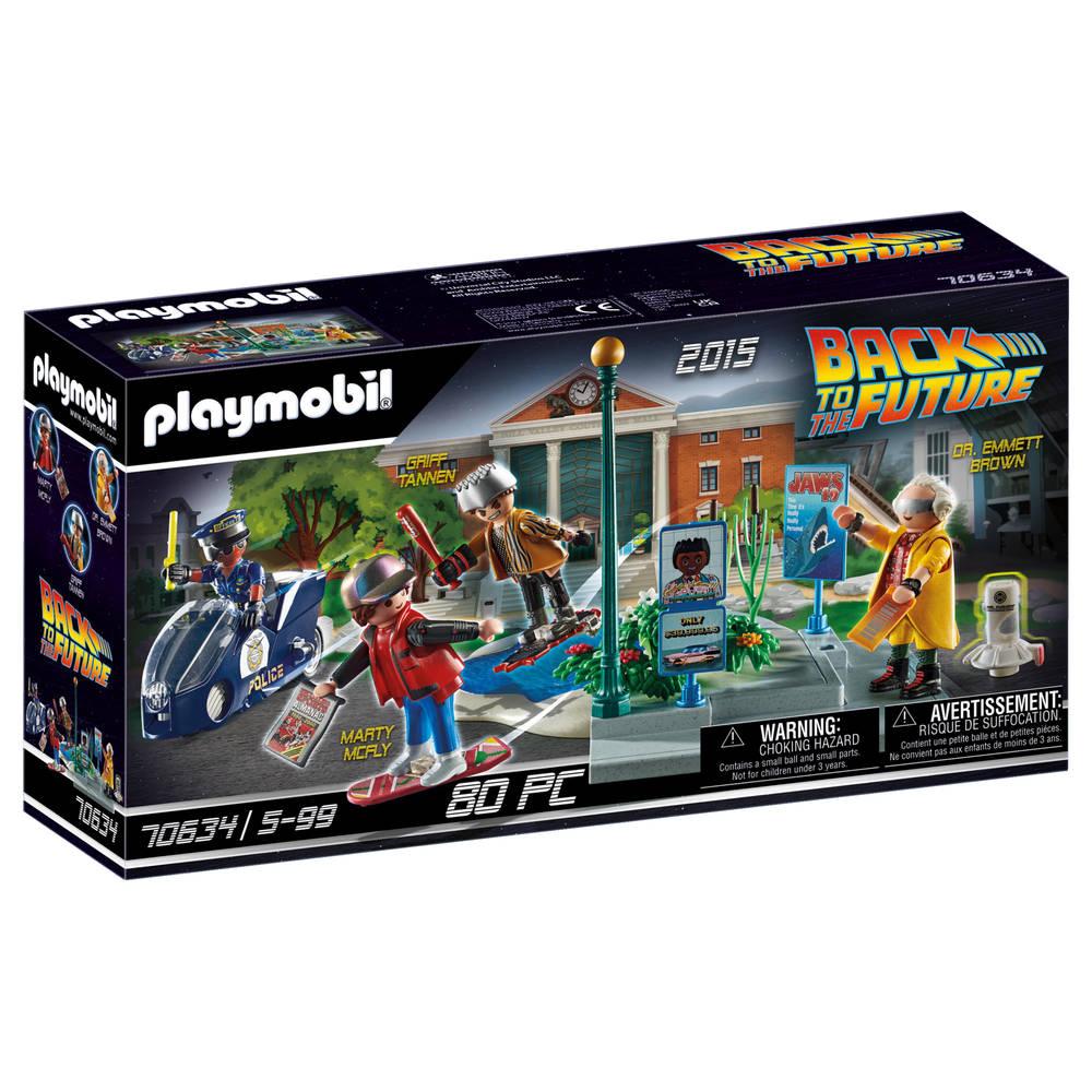 PLAYMOBIL Back to the Future deel II Hoverboard achtervolging 70634