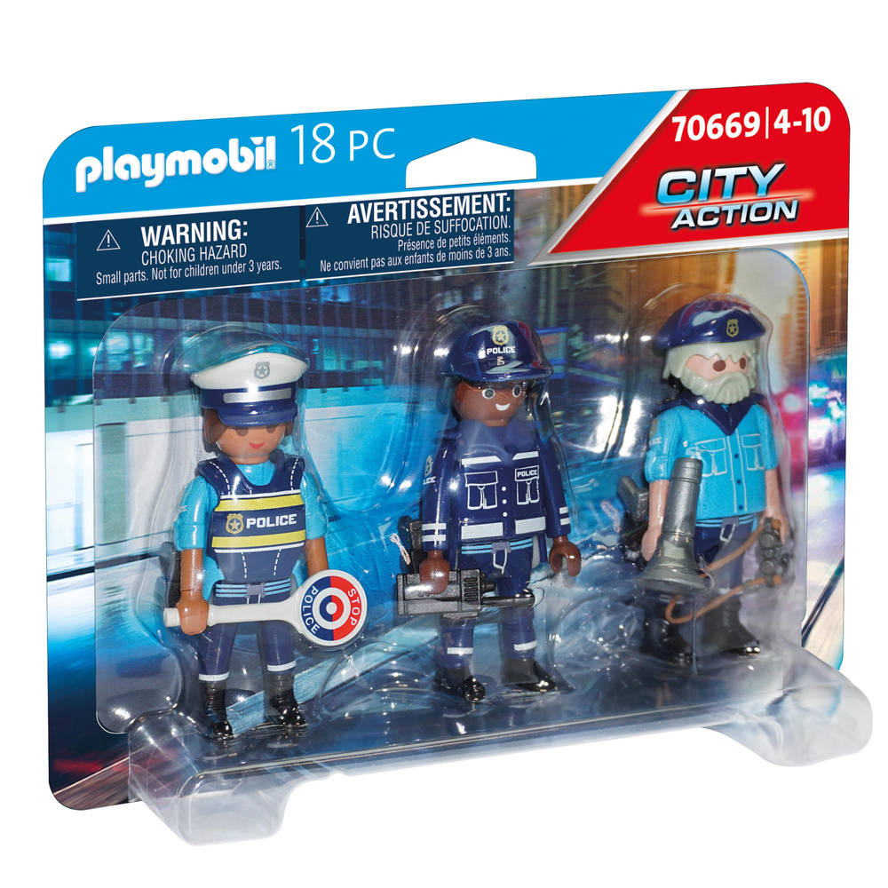 PLAYMOBIL City Action figurenset politie 70669
