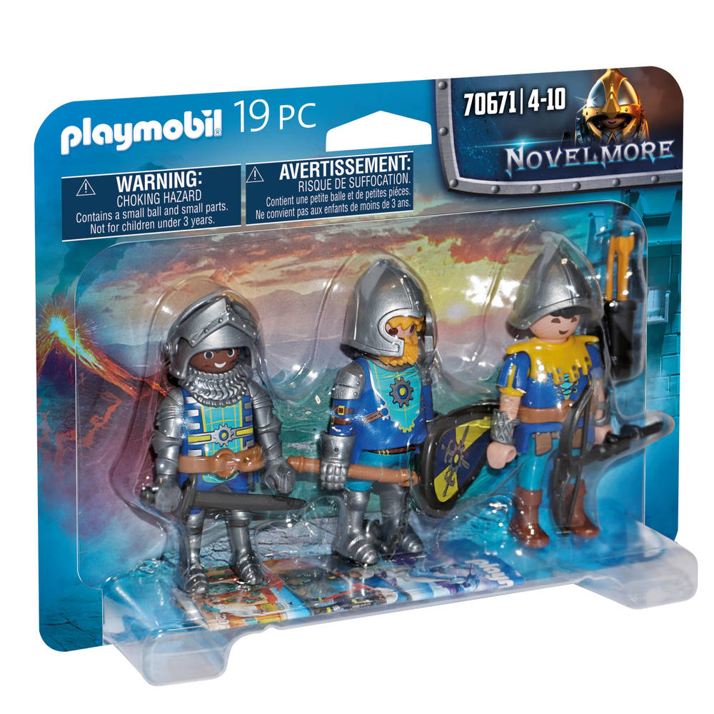 PLAYMOBIL Novelmore set van 3 ridders 70671
