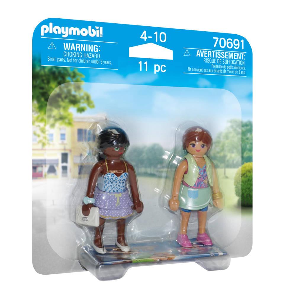 PLAYMOBIL duopack winkelende meiden 70691