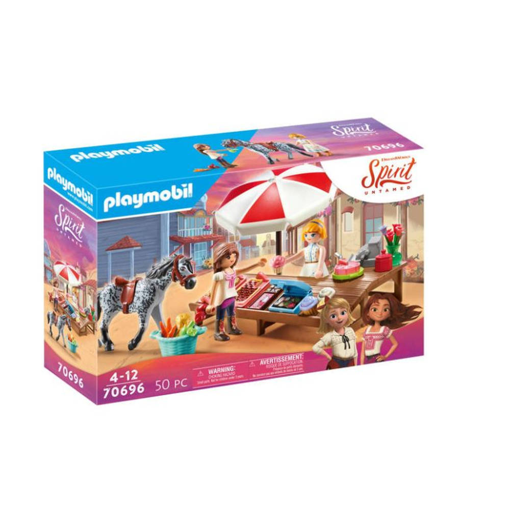 PLAYMOBIL Spirit Miradero snoepwinkel 70696