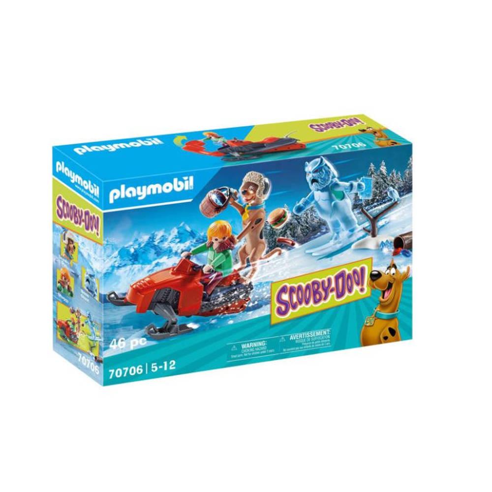 PLAYMOBIL Scooby-Doo! avontuur met Snow Ghost 70706