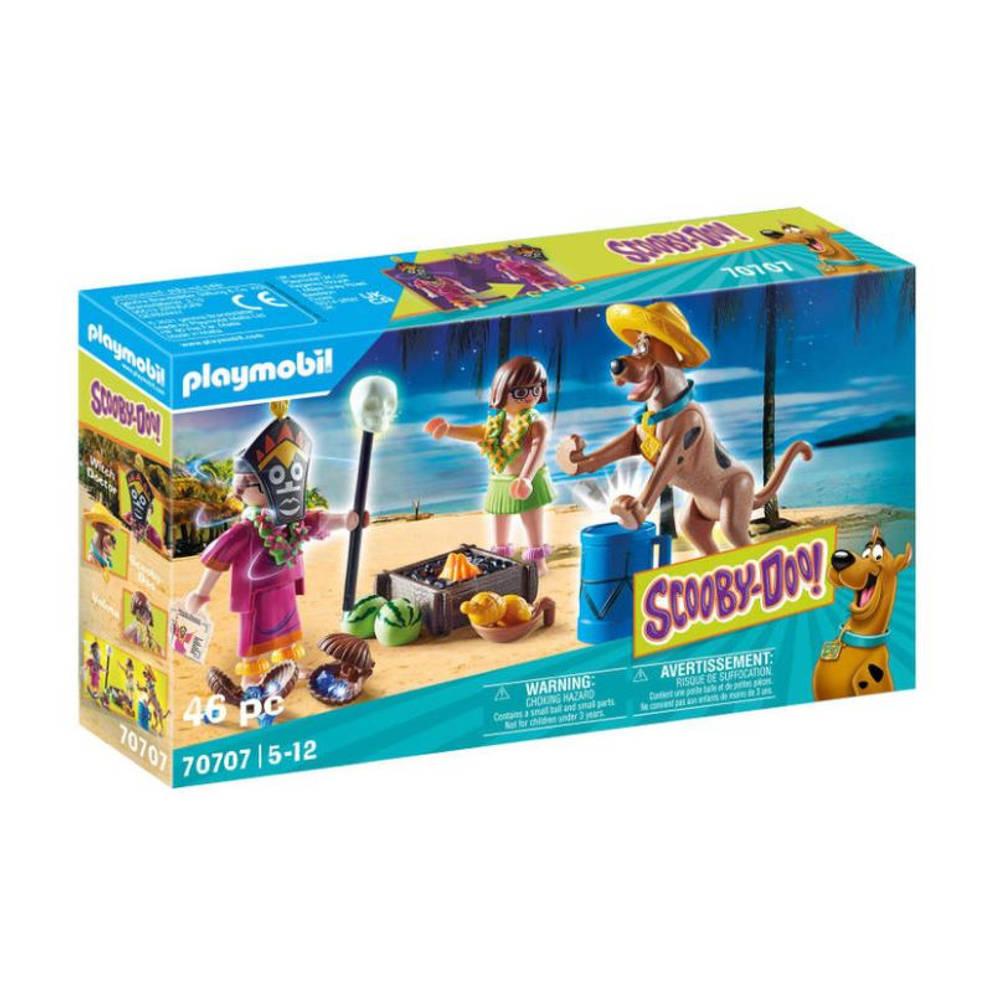 PLAYMOBIL Scooby-Doo! avontuur met toverdoktor 70707