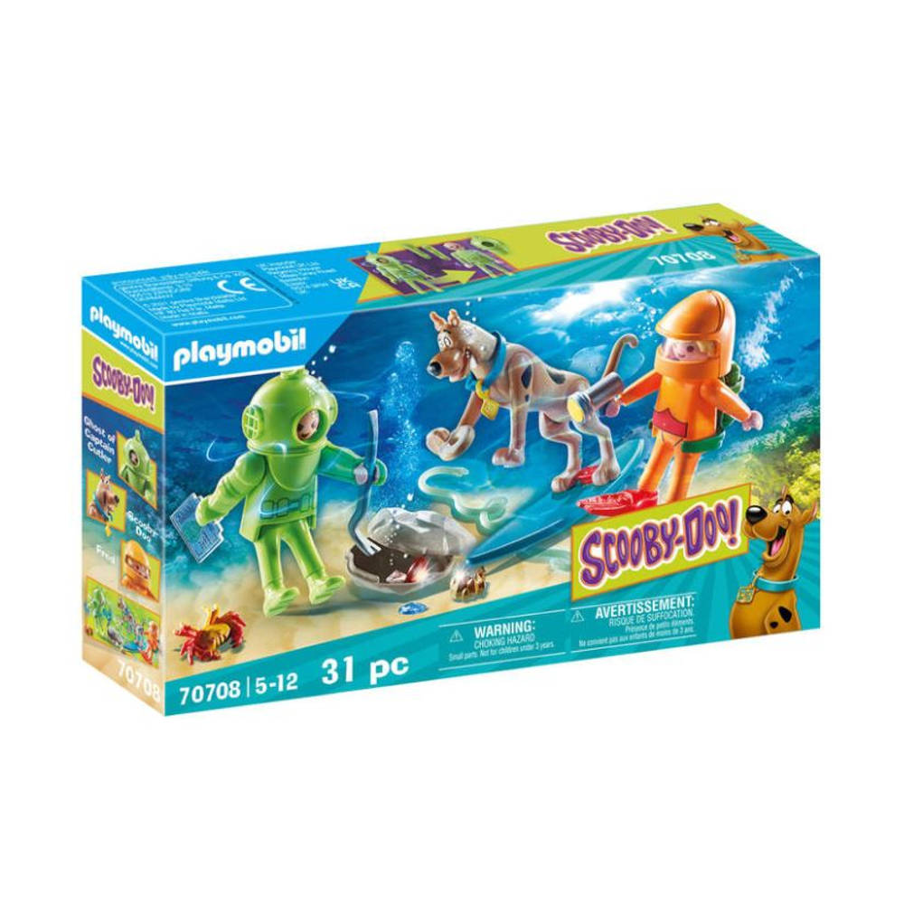 PLAYMOBIL Scooby-Doo! avontuur met Ghost of Captain Cutler 70708