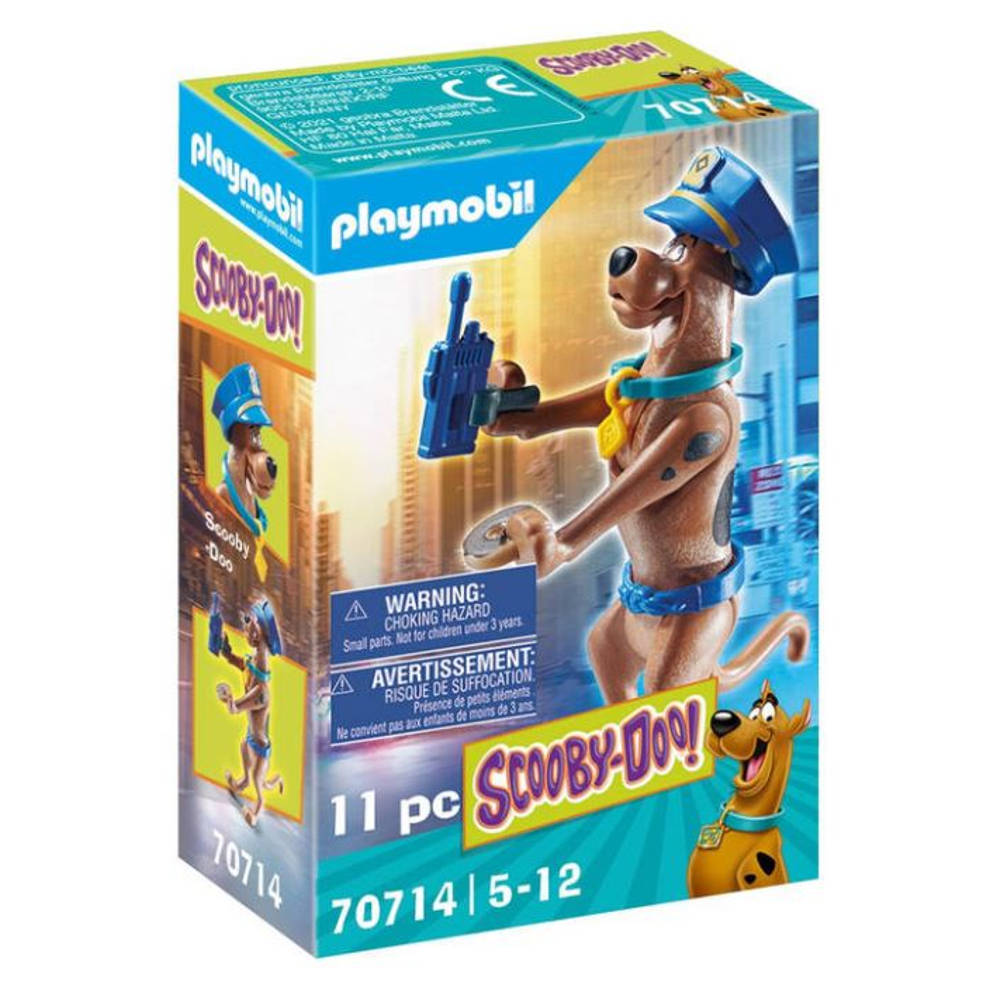 PLAYMOBIL Scooby-Doo! verzamelfiguur politie 70714