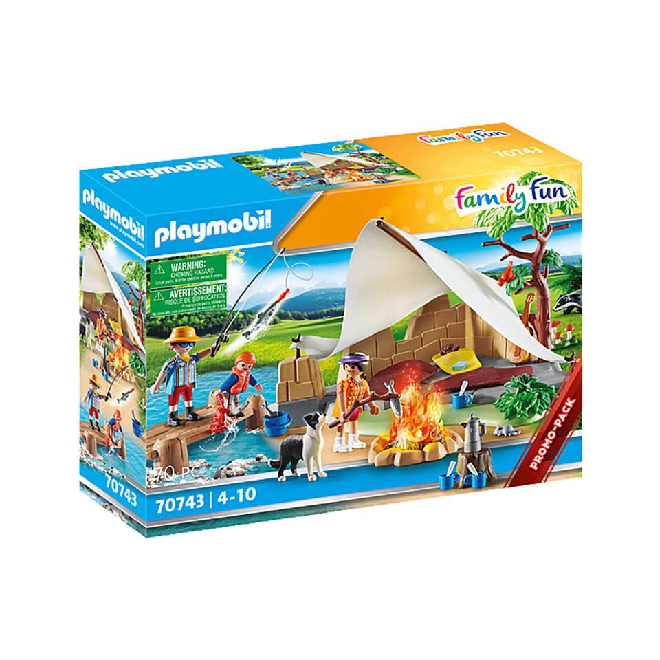 PLAYMOBIL familie op kampeertocht 70743