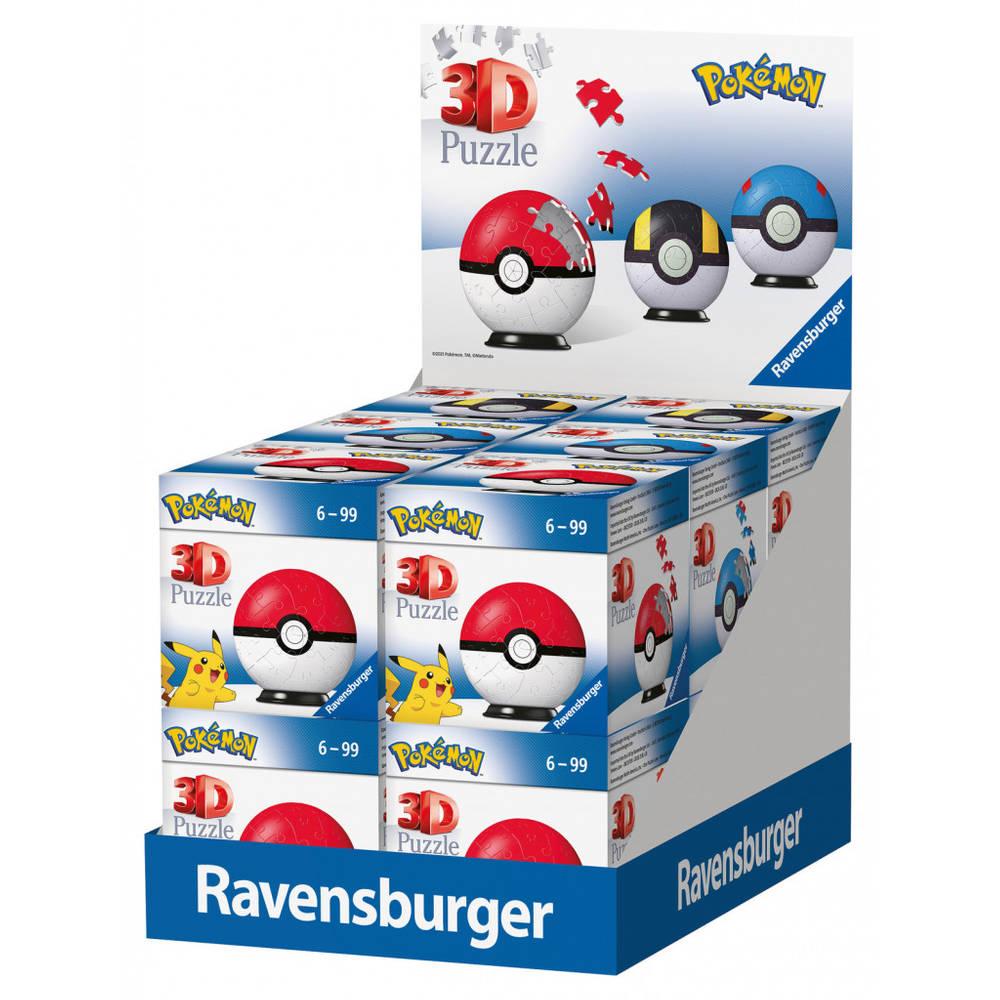 Ravensburger 3D-puzzel VKK Pokémon - 54 stukjes