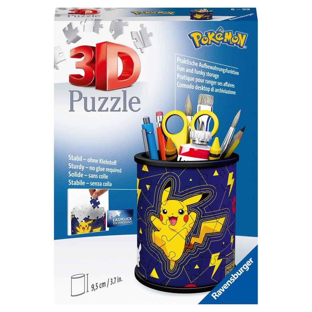 Ravensburger 3D-puzzel pennenbak Pokémon - 54 stukjes