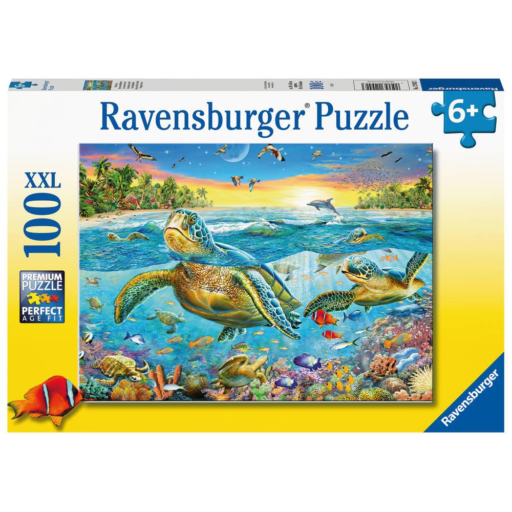 Ravensburger puzzel zeeschildpadden - 100 stukjes