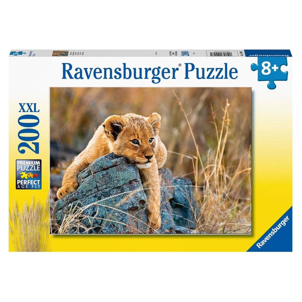 Ravensburger puzzel Kleine leeuw - 200 stukjes