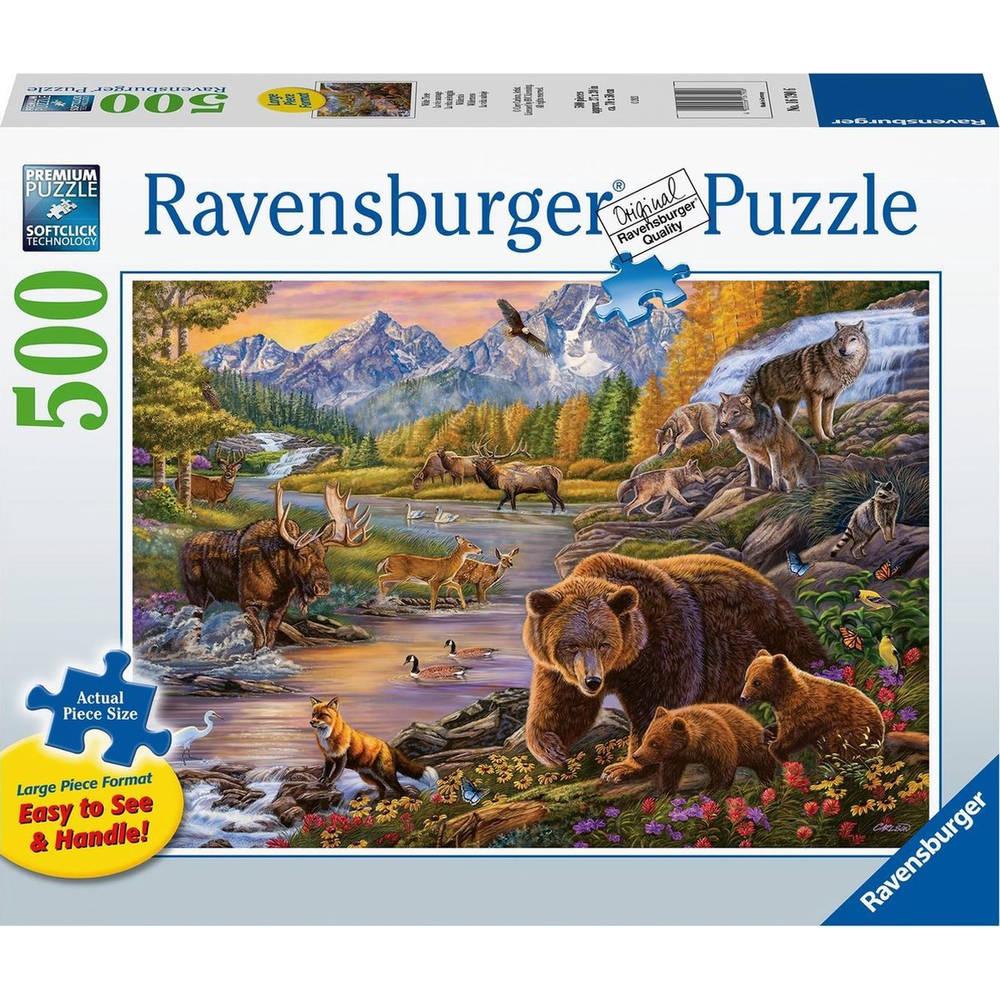 Ravensburger puzzel wildernis - 500 stukjes