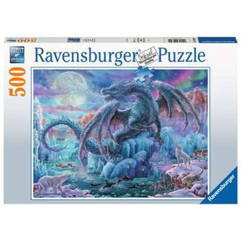Ravensburger puzzel ijsdraak - 500 stukjes
