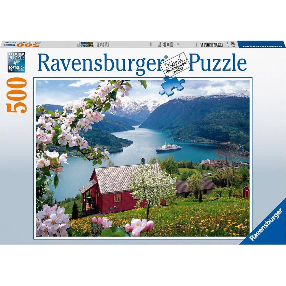 Ravensburger puzzel Scandinavische idylle - 500 stukjes