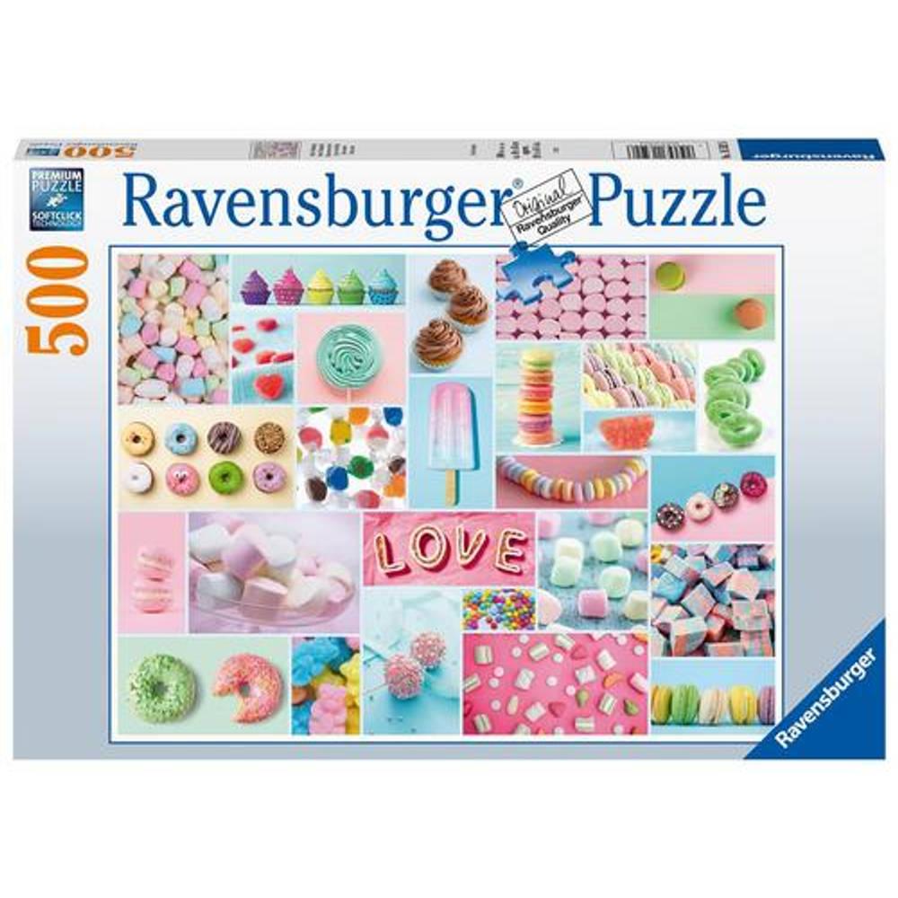 Ravensburger puzzel Zoete verleiding - 500 stukjes