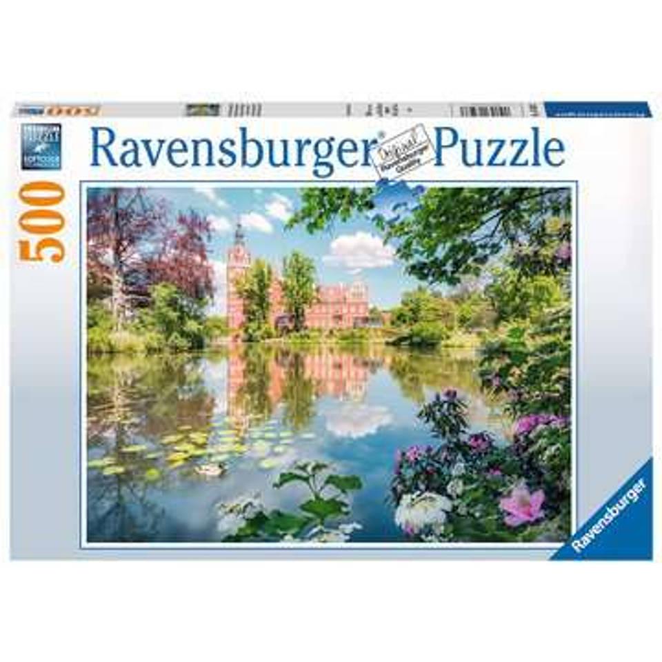 Ravensburger puzzel Sprookjesachtig slot Muskau - 500 stukjes