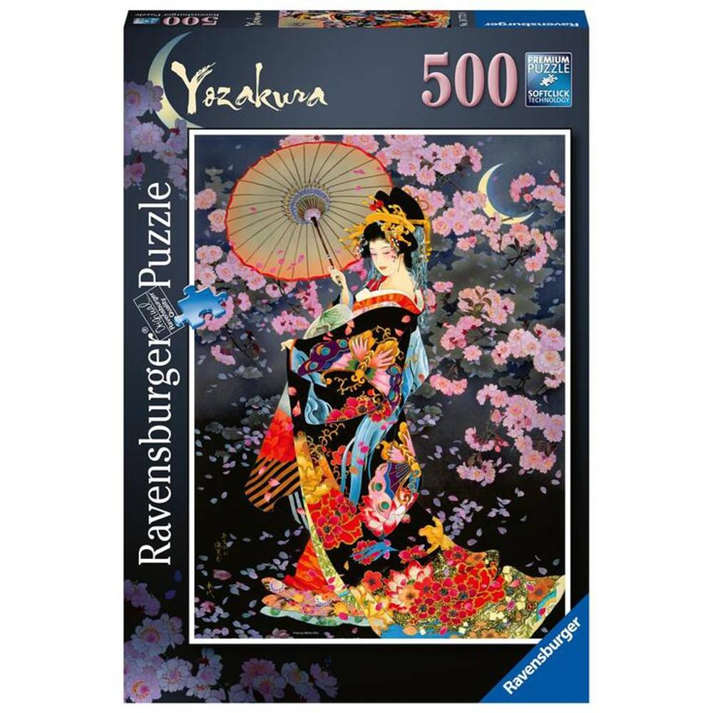 Ravensburger puzzel Yozakura - 500 stukjes