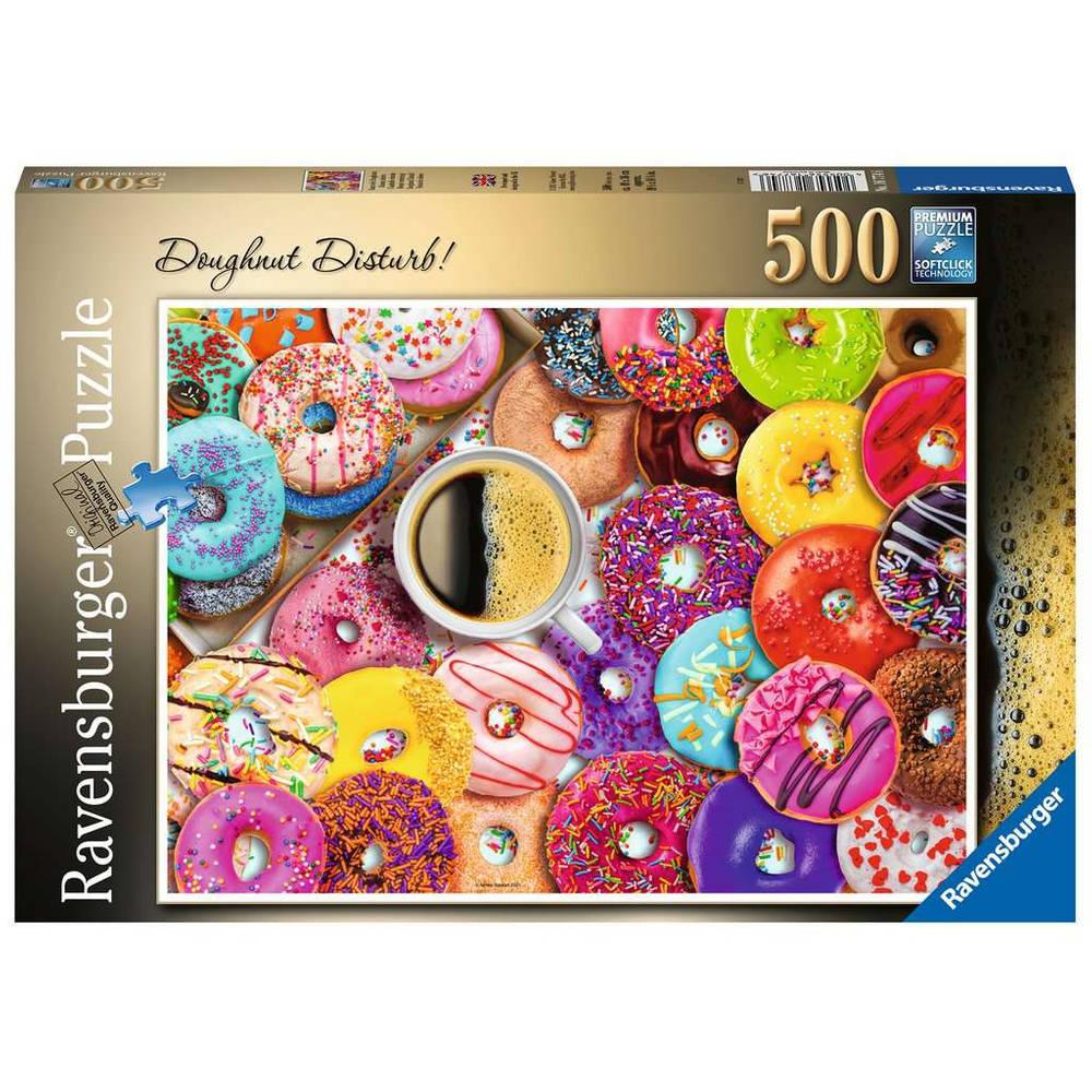 Ravensburger puzzel Doughnut Disturb - 500 stukjes