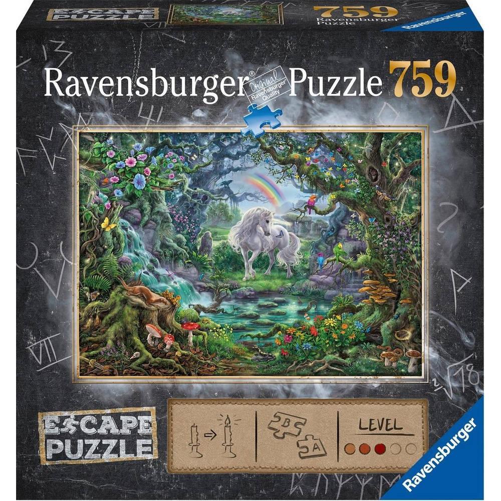 Ravensburger Escape puzzel eenhoorn - 759 stukjes