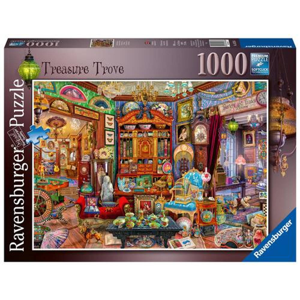 Ravensburger puzzel schatkamer - 1000 stukjes