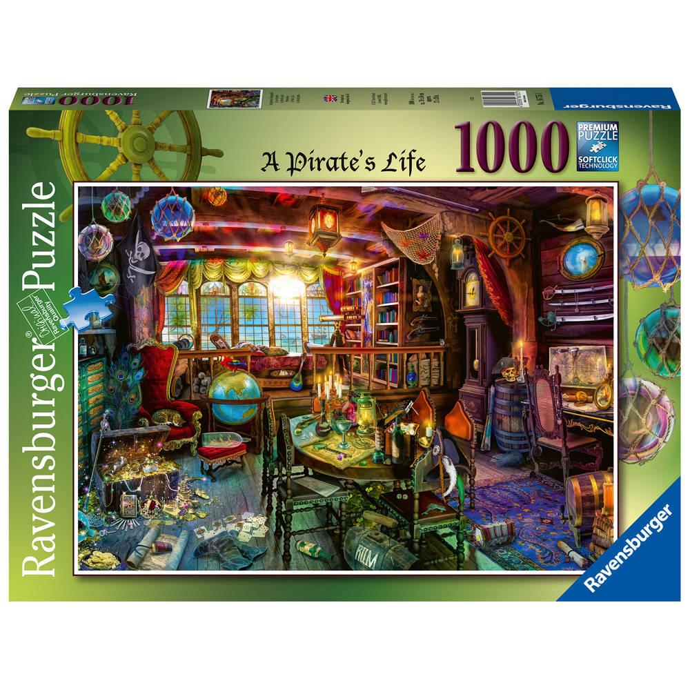 Ravensburger puzzel piratenleven - 1000 stukjes