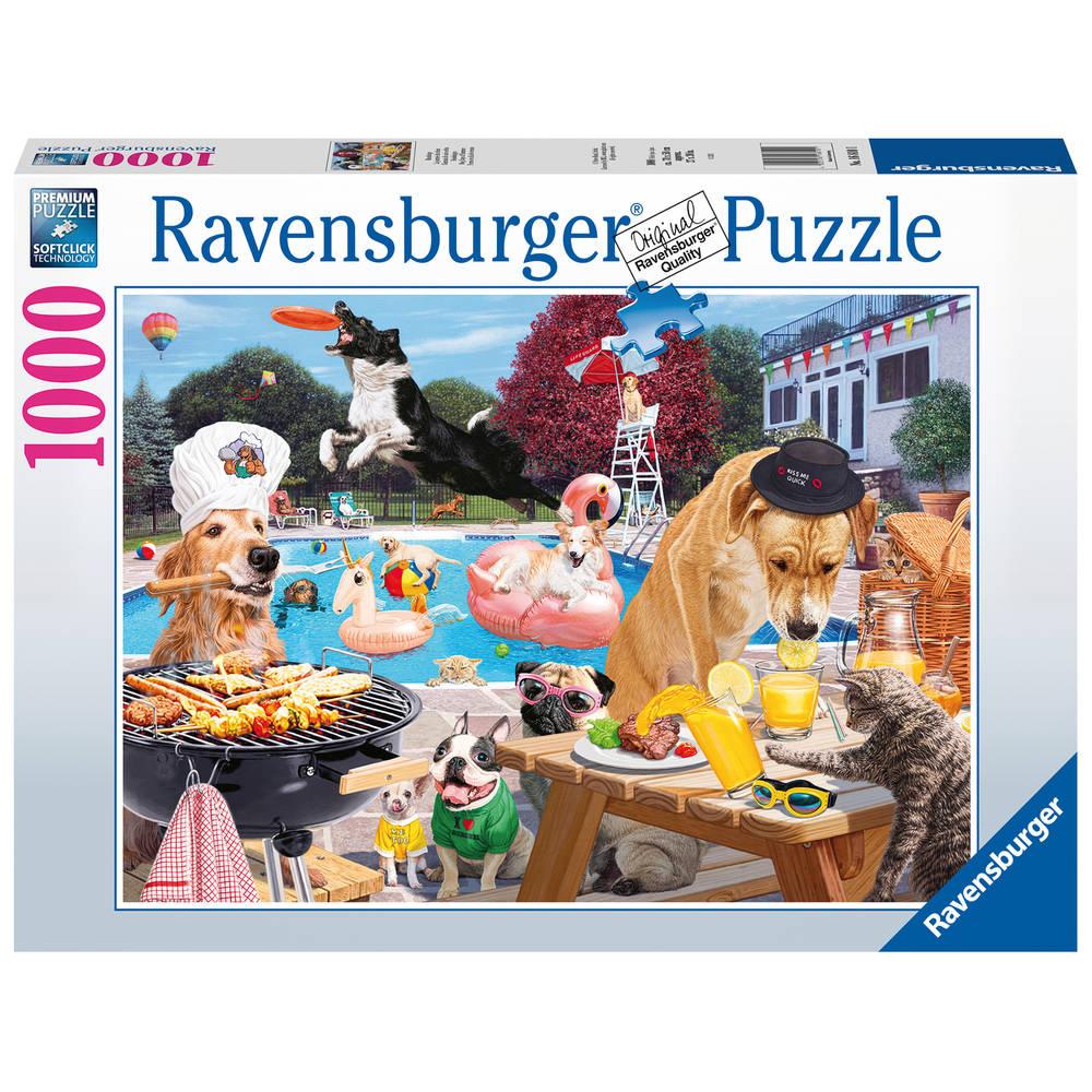 Ravensburger puzzel Dag van de hond - 1000 stukjes