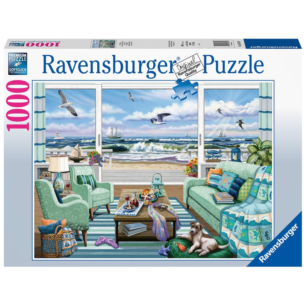 Ravensburger puzzel strandhuisje - 1000 stukjes