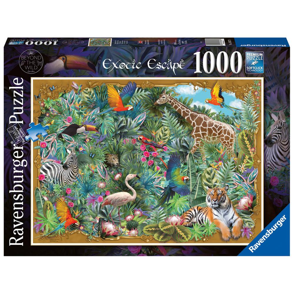 Ravensburger puzzel Exotisch plaatje - 1000 stukjes