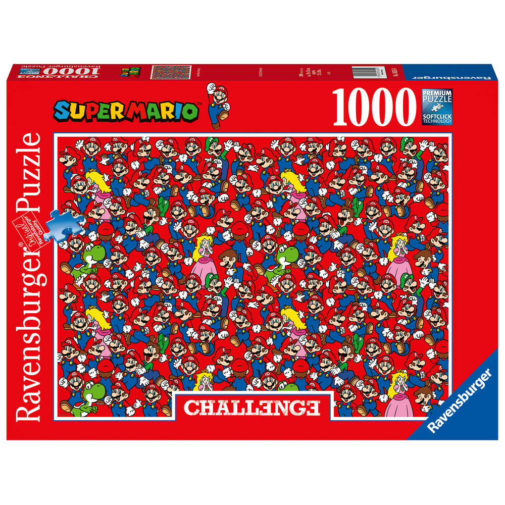 Ravensburger Challenge puzzel Super Mario - 1000 stukjes