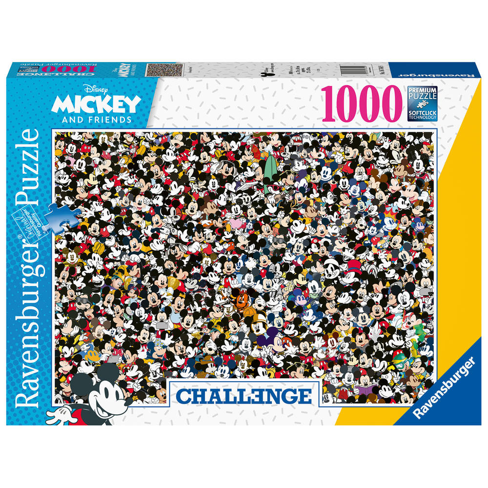 Ravensburger Challenge puzzel Disney Mickey - 1000 stukjes