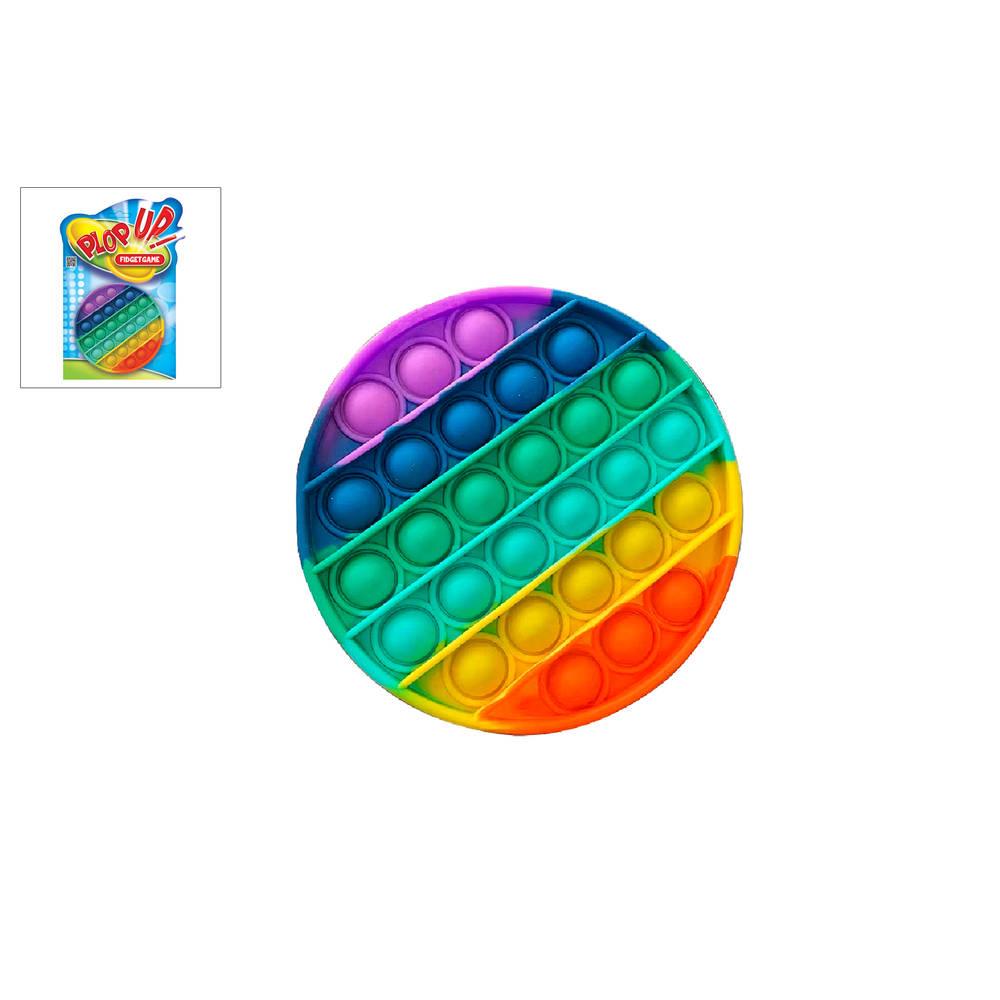 Plop Up! Rainbow Fidget