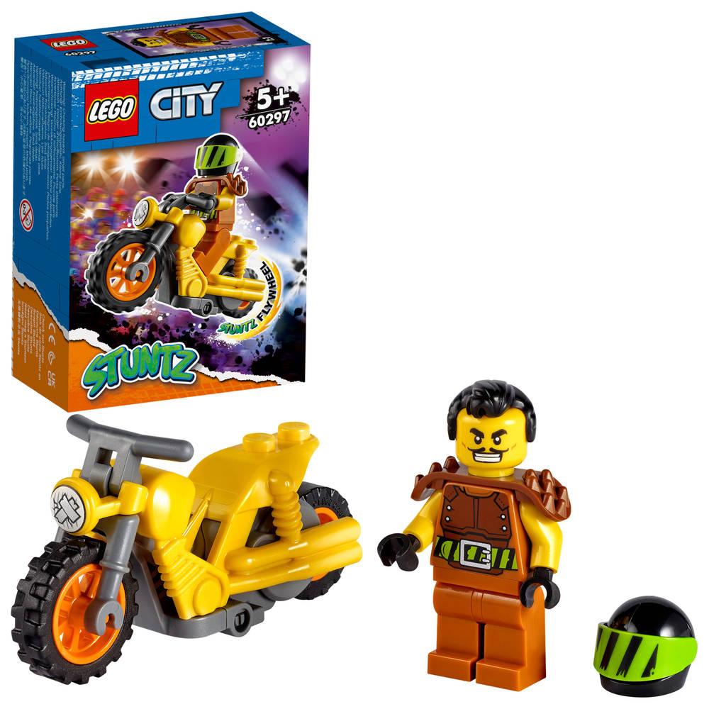 LEGO City sloop stuntmotor 60297