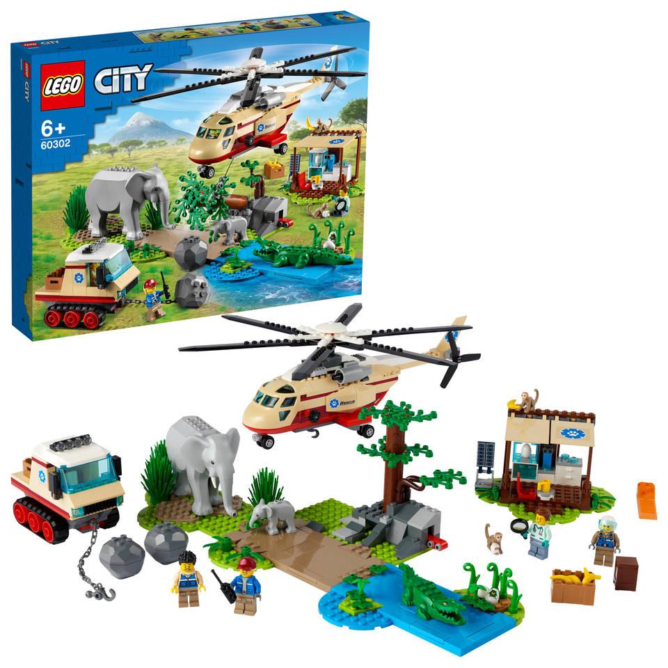 LEGO City Wildlife Rescue operatie 60302