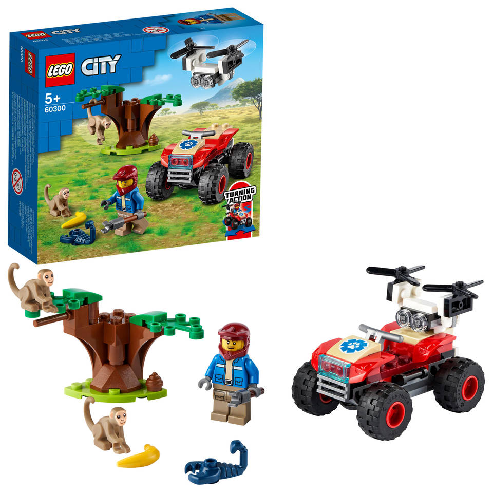 LEGO City Wildlife Rescue ATV 60300