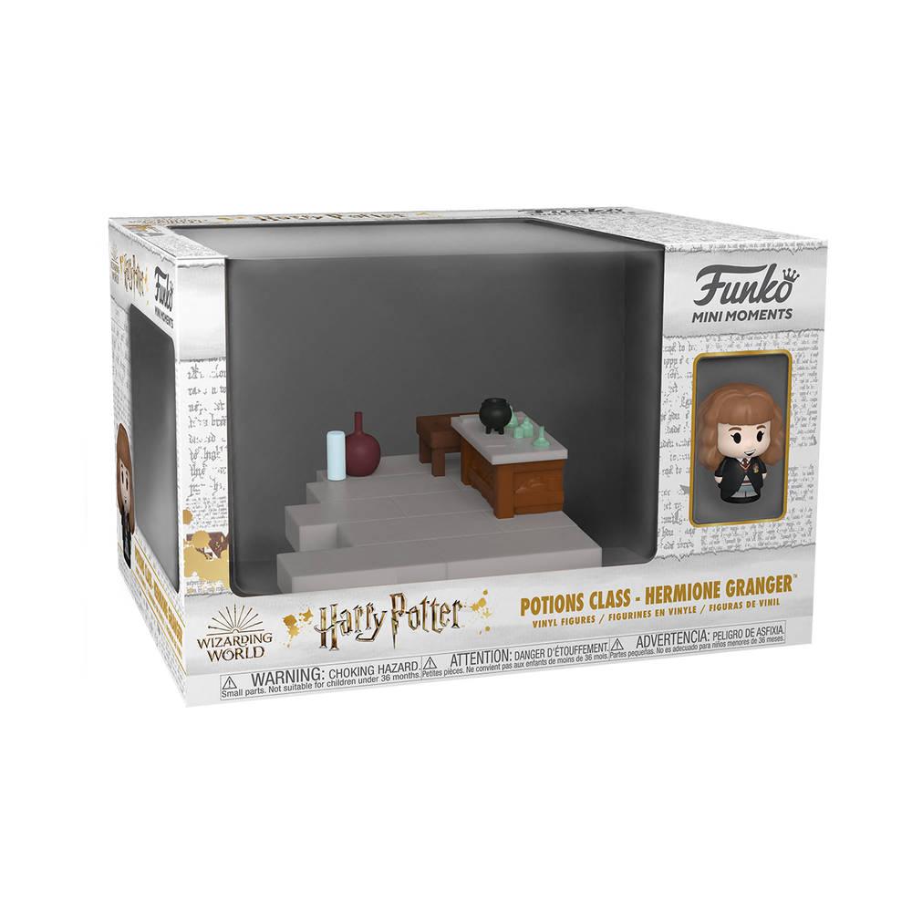 Funko Mini Moment! figuur Harry Potter 20th Anniversary Hermelien Griffel Toverdranken lokaal
