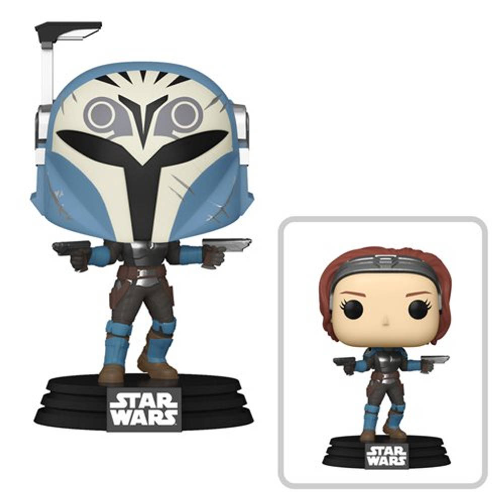 Funko Pop! figuur Star Wars: The Mandalorian Bo-Katan Kryze